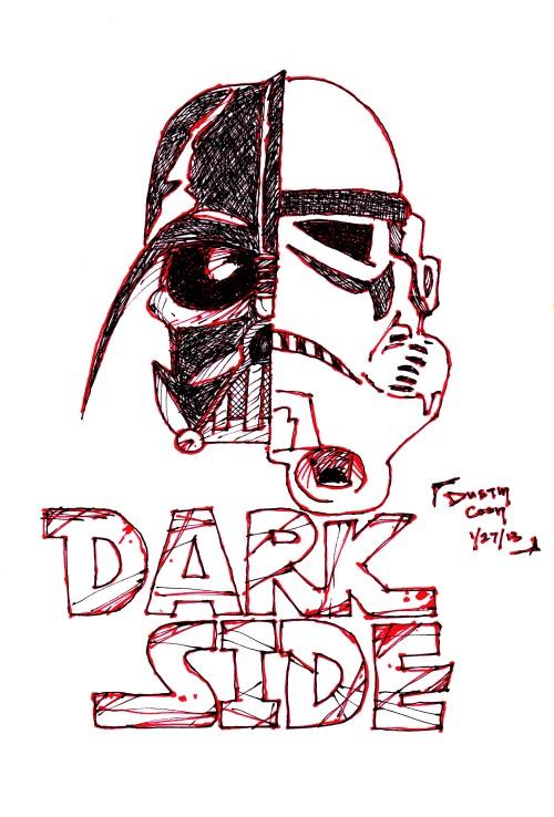 dark-side-tattoo-design